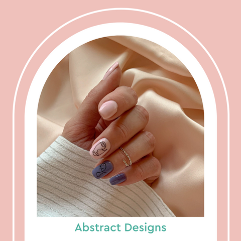Summer Nail Trends 2021 Abstract Designs