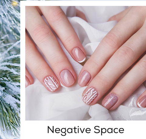 Negative Space Nail Art Trends Winter 2020 PIN