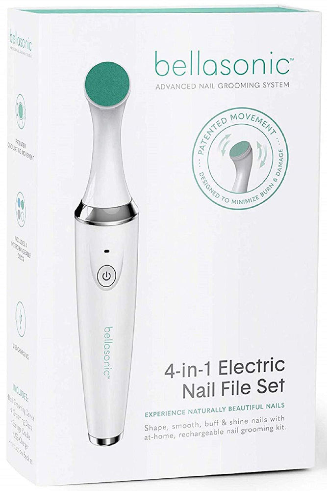 4-in-1 Rechargeable Electric Nail File Set - Bellasonic Beauty