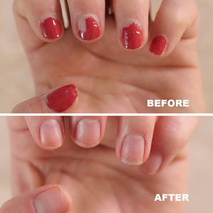 Bellasonic helps remove gel nail polish and safely recover your natural nails,
