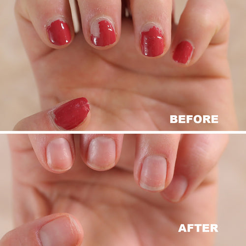Bellasonic helps safely remove gel polish and acrylic nails and restore natural nails