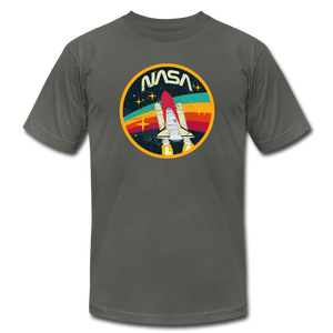 Vintage NASA Space Shuttle - asphalt