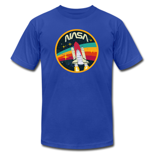 Vintage NASA Space Shuttle - royal blue