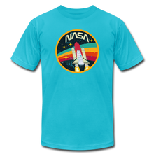Load image into Gallery viewer, Vintage NASA Space Shuttle - turquoise