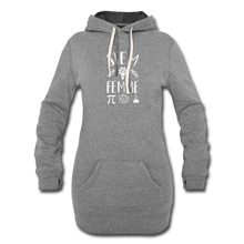 Load image into Gallery viewer, Stem Femme Hoodie Dress - heather gray