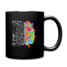 Load image into Gallery viewer, Colorful Art and Science Of The Brain Mug - black