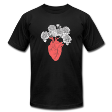 Load image into Gallery viewer, Peony Heart - black