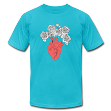 Load image into Gallery viewer, Peony Heart - turquoise
