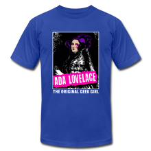 Load image into Gallery viewer, Ada Lovelace The Original Geek Girl - royal blue