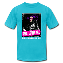 Load image into Gallery viewer, Ada Lovelace The Original Geek Girl - turquoise