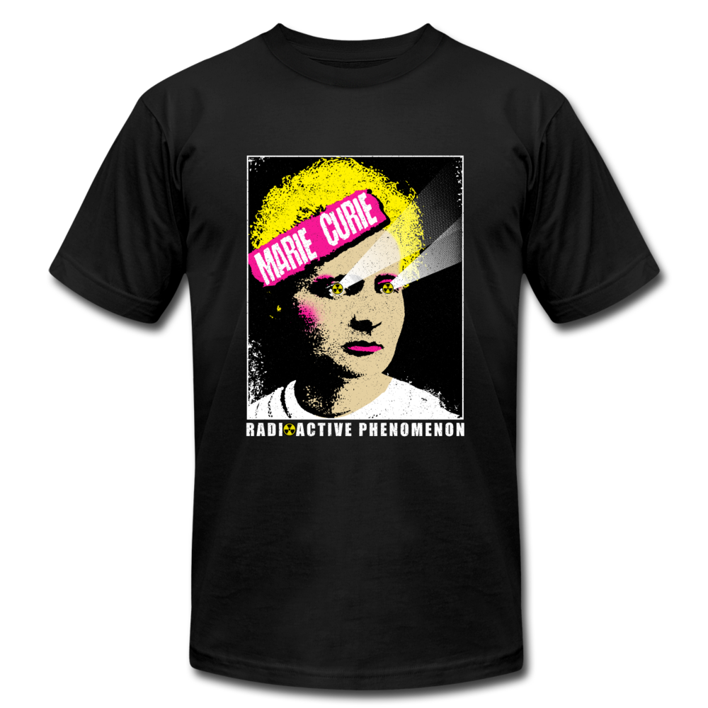 Marie Curie Radioactive Phenomenon - black