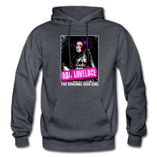 Load image into Gallery viewer, Ada Lovelace | The Original Geek Girl Hoodie - charcoal gray