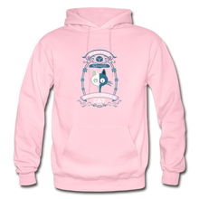 Load image into Gallery viewer, Schrodinger's Cat | Dead & Alive Hoodie - light pink