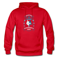 Load image into Gallery viewer, Schrodinger's Cat | Dead & Alive Hoodie - red