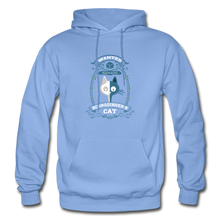 Load image into Gallery viewer, Schrodinger's Cat | Dead & Alive Hoodie - carolina blue