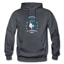 Load image into Gallery viewer, Schrodinger's Cat | Dead & Alive Hoodie - charcoal gray
