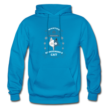 Load image into Gallery viewer, Schrodinger's Cat | Dead & Alive Hoodie - turquoise