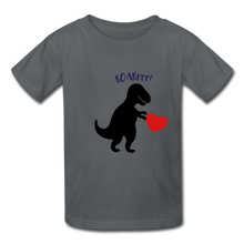 Load image into Gallery viewer, T-Rex ROARrrr Kids' T-Shirt - charcoal