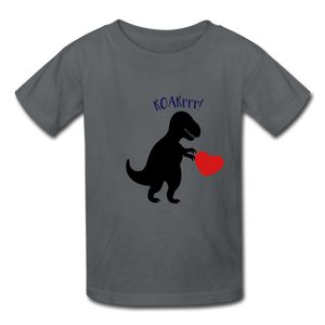 T-Rex ROARrrr Kids' T-Shirt - charcoal