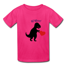 Load image into Gallery viewer, T-Rex ROARrrr Kids' T-Shirt - fuchsia