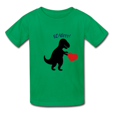 Load image into Gallery viewer, T-Rex ROARrrr Kids' T-Shirt - kelly green