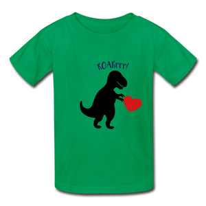 T-Rex ROARrrr Kids' T-Shirt - kelly green