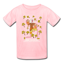 Load image into Gallery viewer, Jane Goodall Kids' T-Shirt - pink