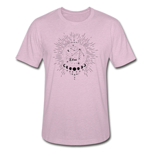 Load image into Gallery viewer, Libra Heather Prism Zodiac T-Shirt - heather prism lilac