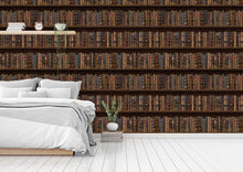 Load image into Gallery viewer, Vintage Book bedroom wallpaper