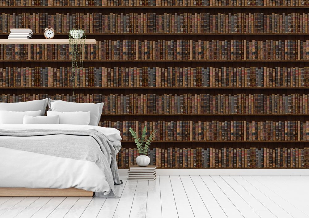 Vintage Book bedroom wallpaper