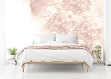 Load image into Gallery viewer, Vintage pink floral bedroom wall mural