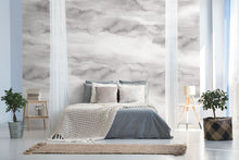 Load image into Gallery viewer, Grey sky cloud bedroom wall mural