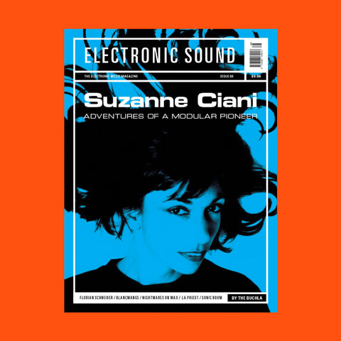 "ELECTRONICS SOUND Issue 66 ""Suzanne Ciani"""