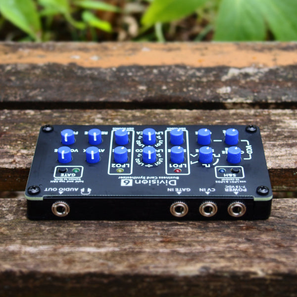 Business Card Synthesizer - Assembled w/ Enclosure