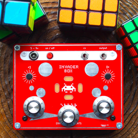 Invader Box (Red Limited Edition)