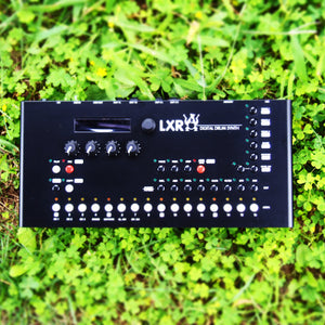 LXR Drum Synthesizer (ULU Electrico tune-up) Metal Enclosure