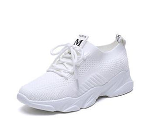 Women Running Shoes Women's Sneakers Trainers Lace Up Flat Comfy Fitness Gym Sports Shoes Casual ladies Shoes