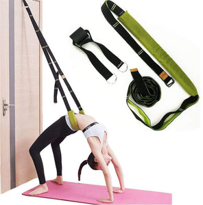 💪Yoga Waist Back Stretch Band DEEPEN STRECHING BACK BEND ASSIT TRAINER