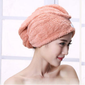 (50% OFF TODAY!!)Quick Magic Hair Dry Hat