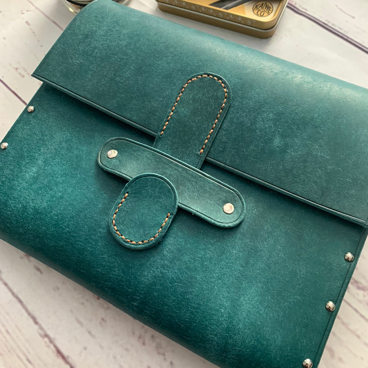 Turquoise Writing Case