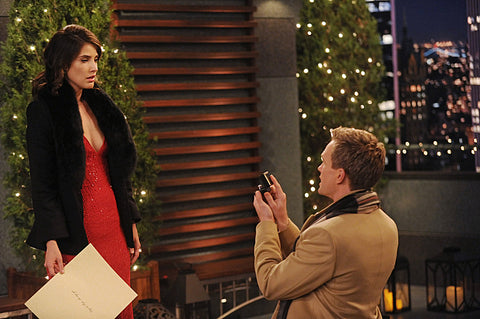 Barney propose to robin