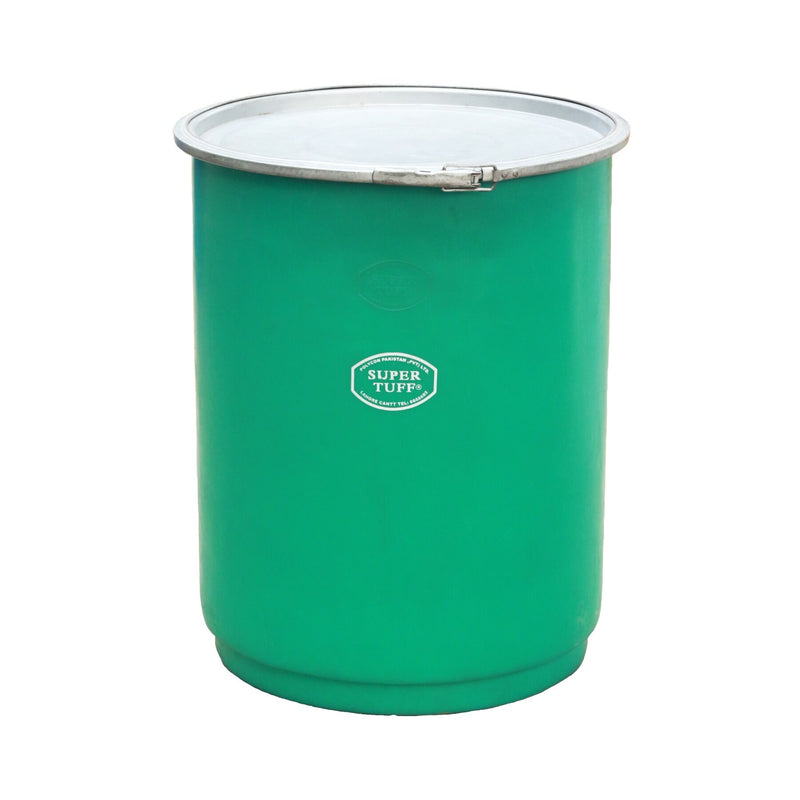 Open Top Container 130 Liters With Metal Lid