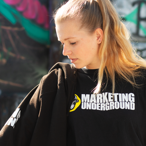Marketing Underground T-Shirt - Motiv: Ape/Slogan1