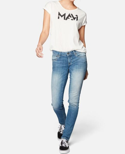 Mavi Lindy Low Rise Skinny Damenjeans