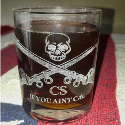 If You Aint Cav Whiskey Glass