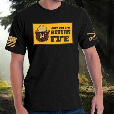 Only You Can return Fire Morale Tee