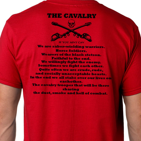 The Cavalry Tee - 19D - Recon