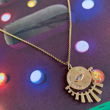 Load image into Gallery viewer, Sun & Moon Talisman - Gold Plated Necklace