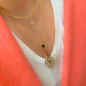 Sun & Moon Talisman - Gold Plated Necklace
