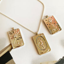 Load image into Gallery viewer, Tarot Card - Silver Necklace